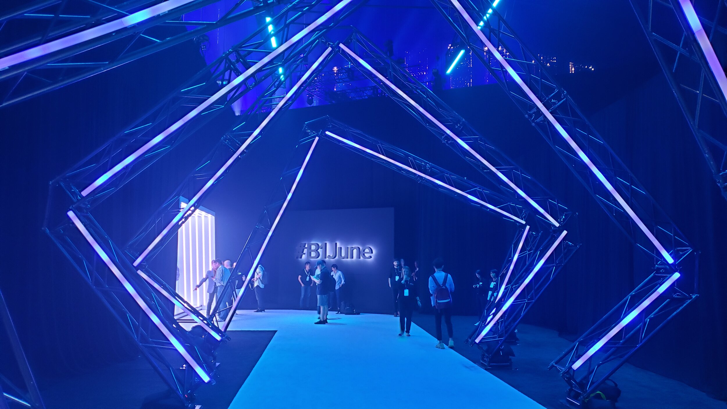 block.one #B1June Event 2019 - Entrance