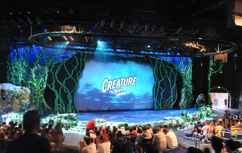 Creature Of The Black Lagoon The Musical - Universal Studio Theme Park