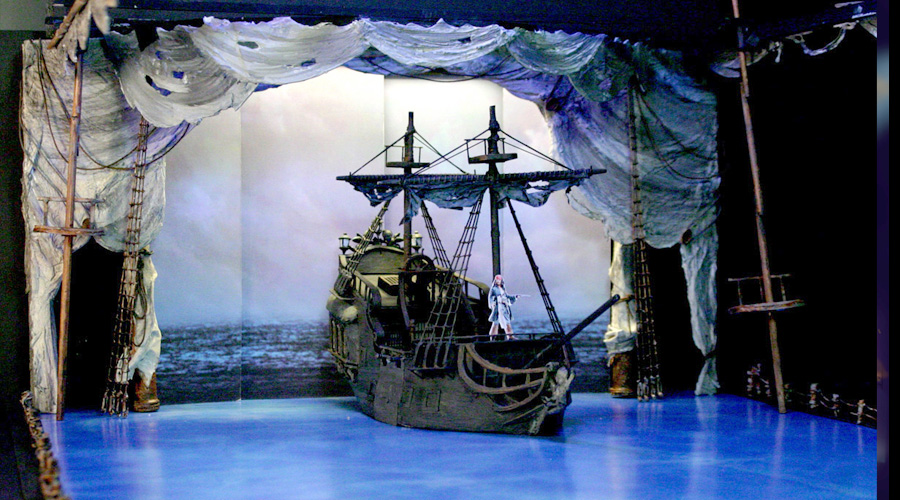 Pirates Of The Caribbean On Ice - Concept Model