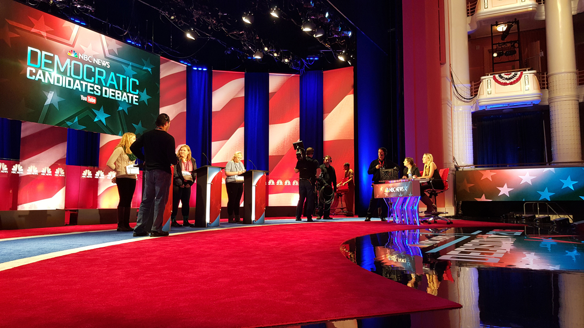 NBC Democratic Debate 2016 - Charleston, SC