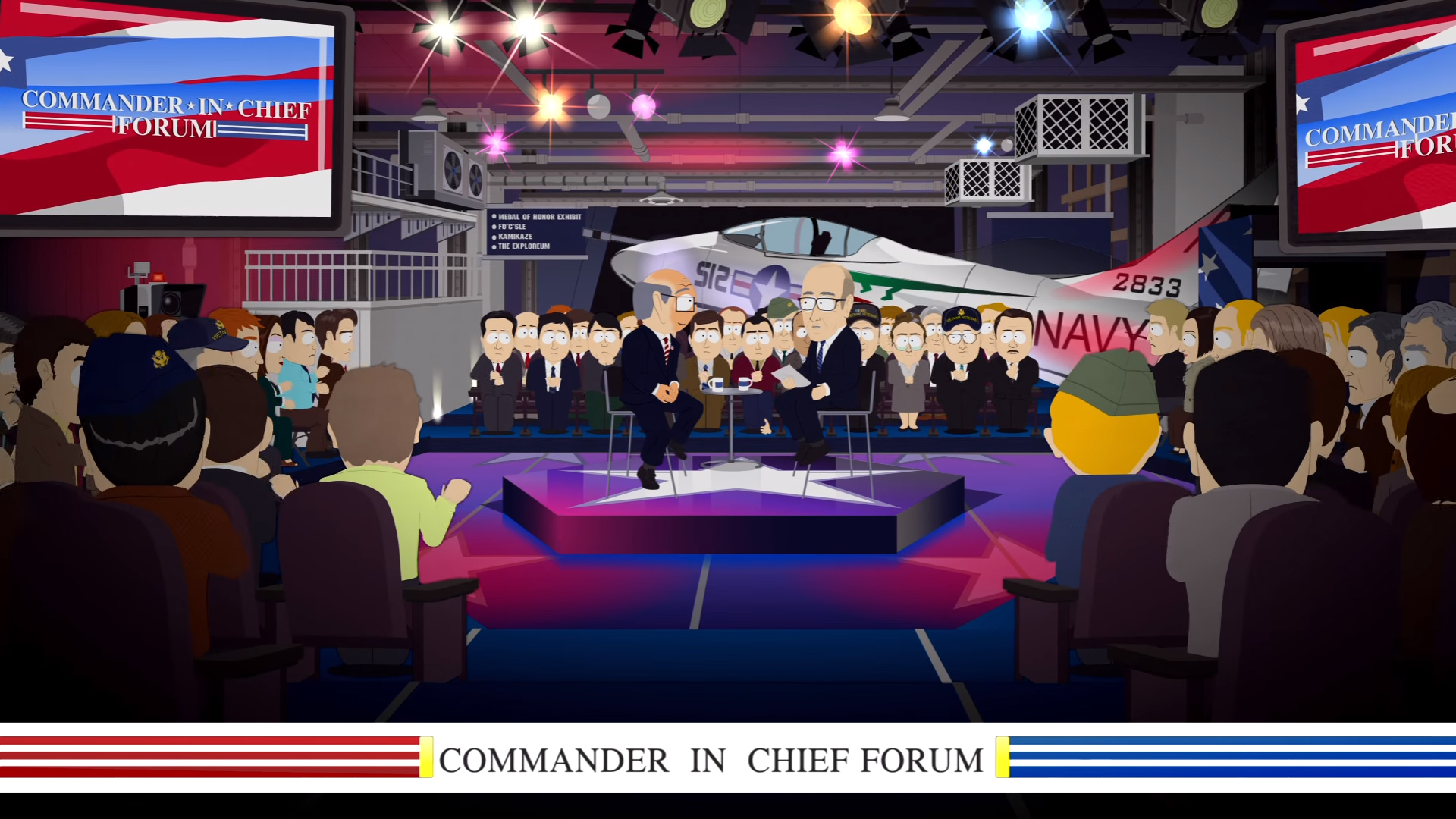 NBC Commander In Chief Forum 2016 - South Park Spoof