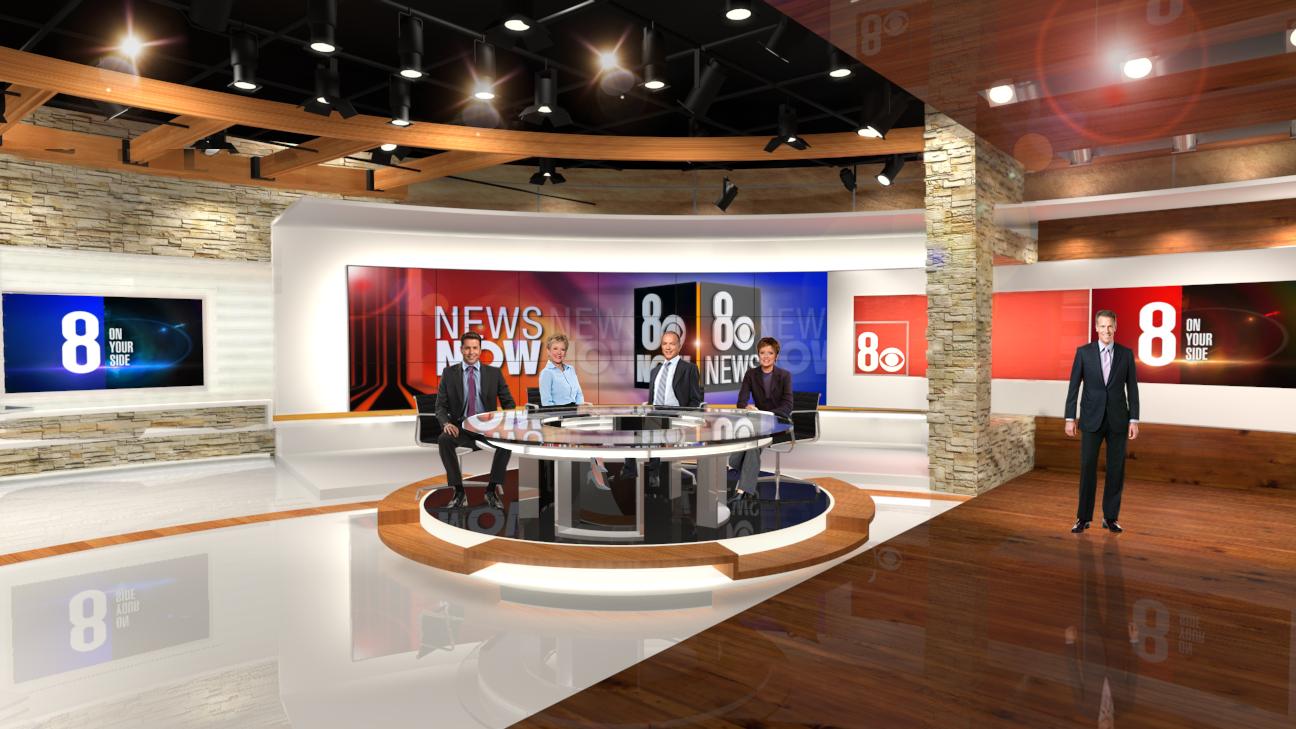 CBS 8 KLAS - Las Vegas - with Clickspring Design
