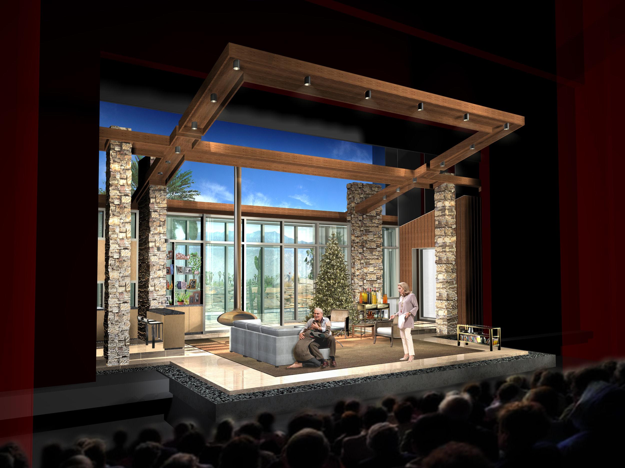 Other Desert Cities - Guthrie Theater - Concept Rendering