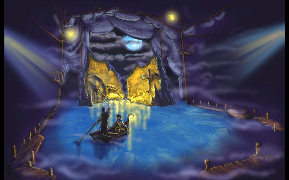 Disney on Ice - Pirates of the Caribbean Concept Rendering