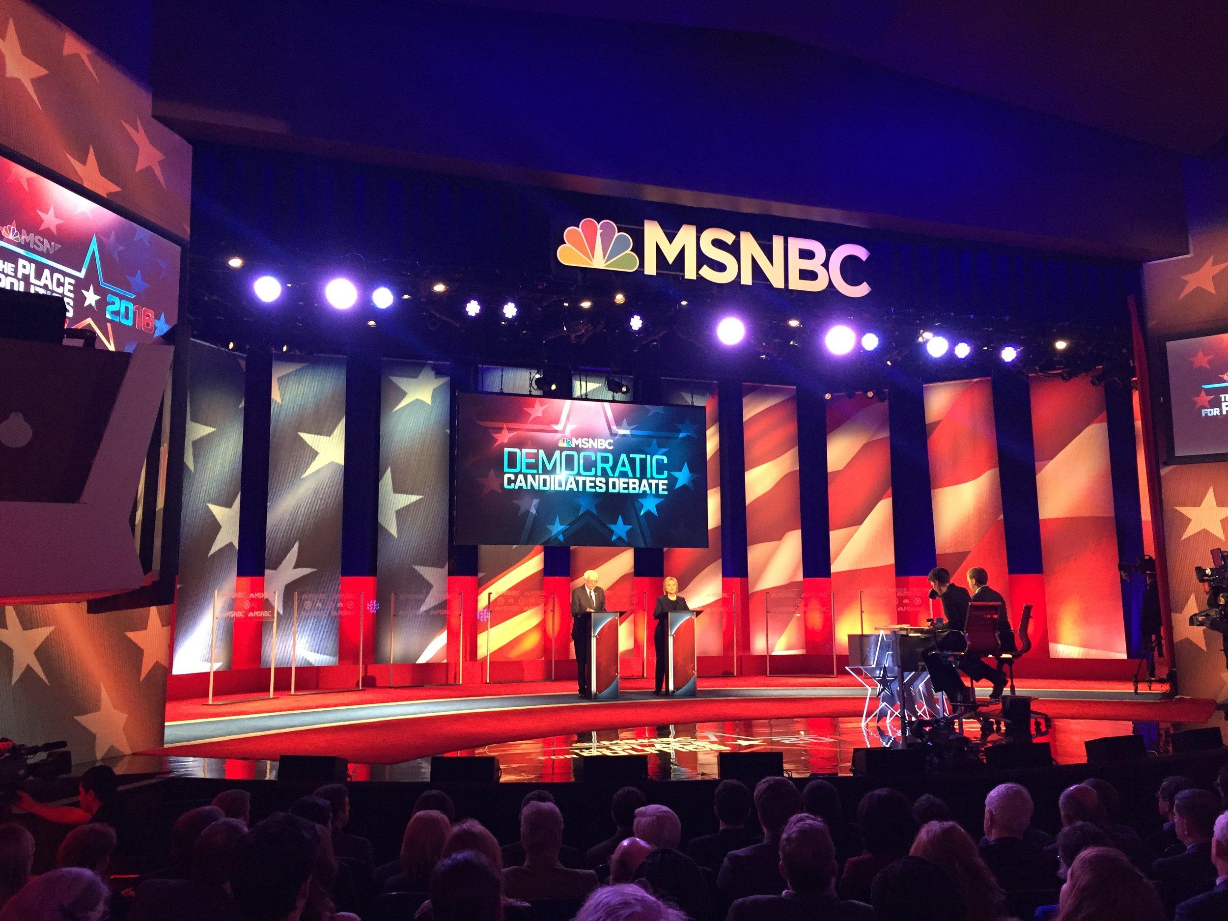 MSNBC Democratic Primary Debate - New Hampshire 2016