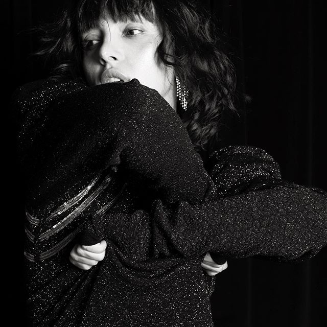 . MOULAGE FW19 🖤 . BE DRIVEN BY YOU  FW19 #m_oulage #luxuryknitwear #fashion #fashiondesigner #madeinitaly #sartorial #detail #shooting #cover #magazine #editorial #fashionmodel #sweater #fashionphotographer #mood #sleeve #knitwear #fw19 #model #lurex #mfw #detail #sartorial #fashion #fallwinter2019 #emergingdesigner #photography
