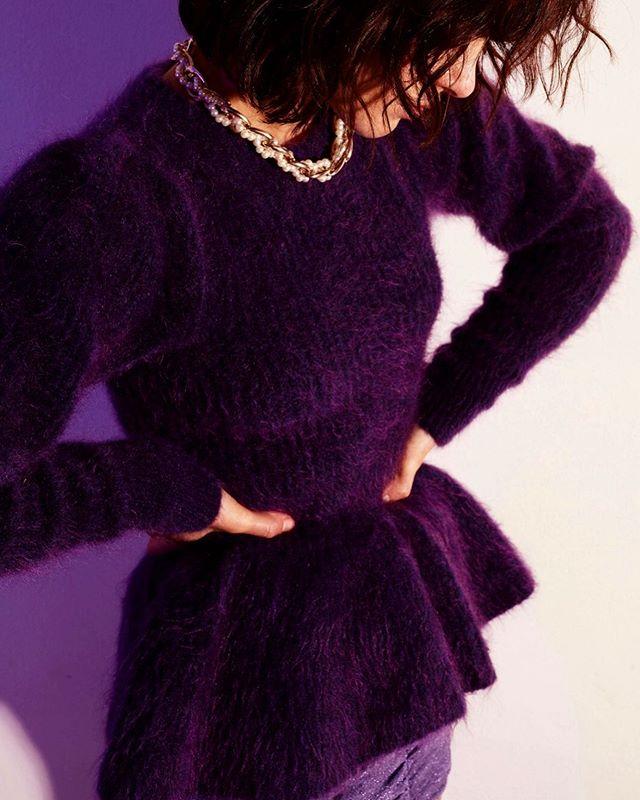. I love the way fashion allows me to show you my mind.  Moulage Manifest Collection 💜  FW19 #m_oulage #luxuryknitwear #fashion #fashiondesigner #purple #MoulageManifest #madeinitaly #sartorial #detail #shooting #cover #magazine #editorial #fashionmodel #sweater #fashionphotographer #mood #sleeve #knitwear #fw19 #alpaca #model #lurex #fashion @nastymagazine @stylesightworldwide @somewhere.style @vogueitalia @marieclaireitalia @glamouritalia @vanityfairitalia @elle_italia @onfilm @dazed @thefashionography @taintedmag