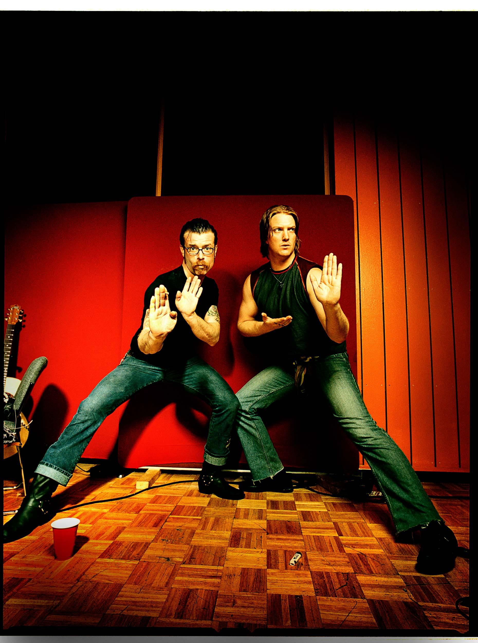 Eagles of Death Metal_Josh Homme-Jesse Hughes_Chapman_Baehler04.jpg