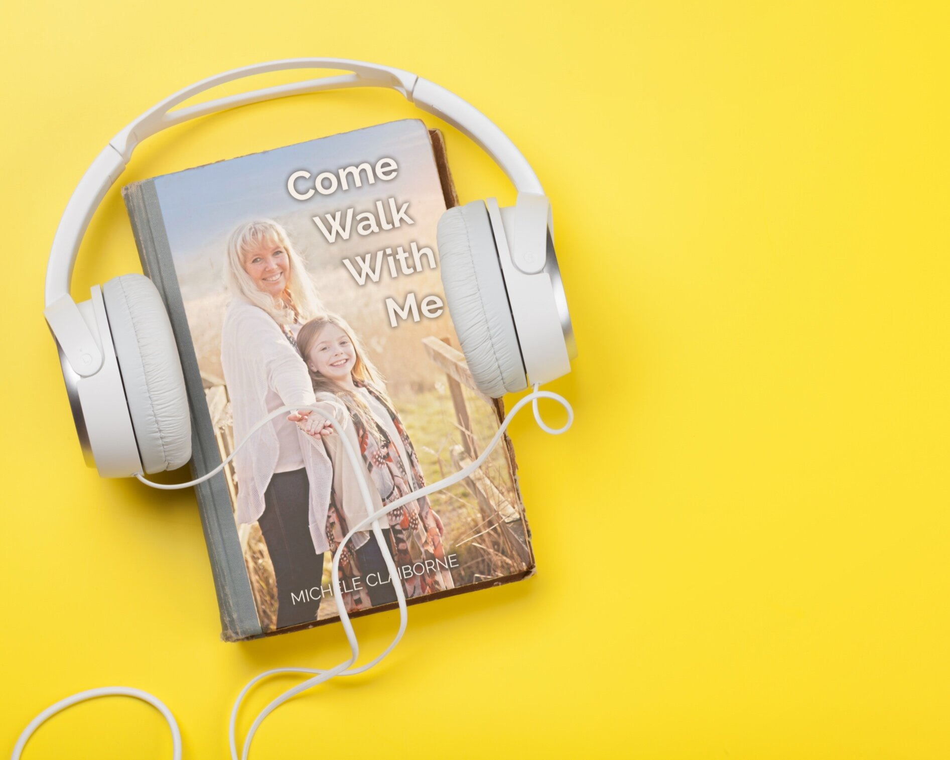 Come Walk With Me - Take a journey like no other in Michele's groundbreaking new audio book adventure, available on Amazon and Audible.