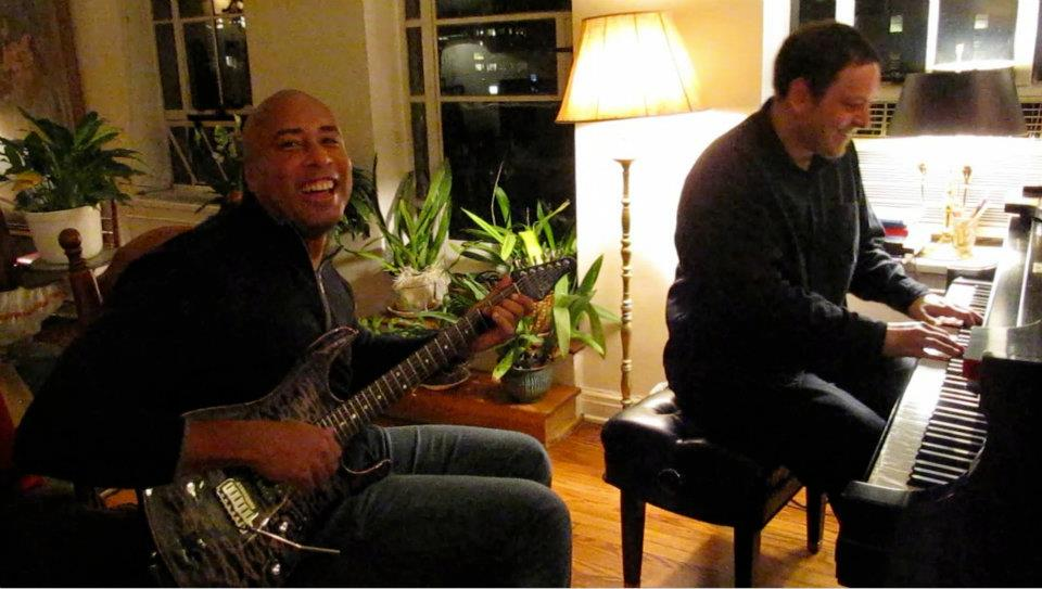 Jamming with Yankees legend Bernie Williams