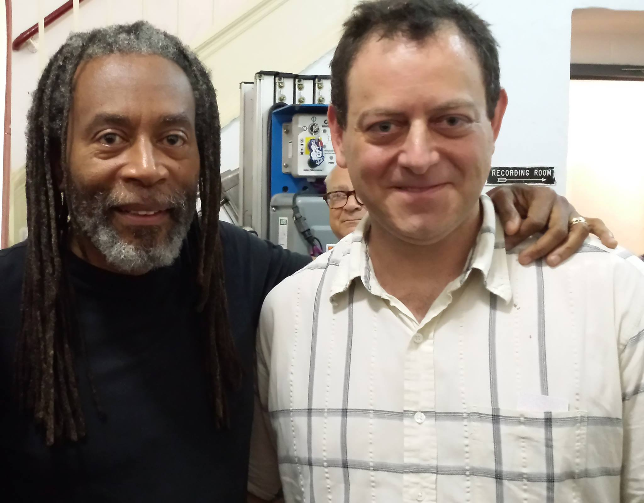 Backstage with Bobby McFerrin