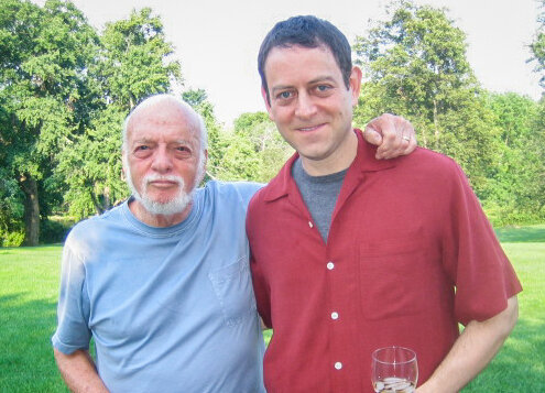 With the late, great Hal Prince