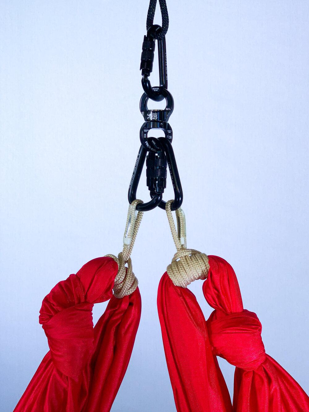 aerial yoga hammock single point