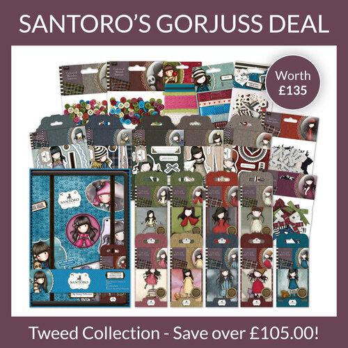 Carte Toppers//Santoro/'s Gorjuss Petit Scrapbooking Toppers un Craft clearout Mix