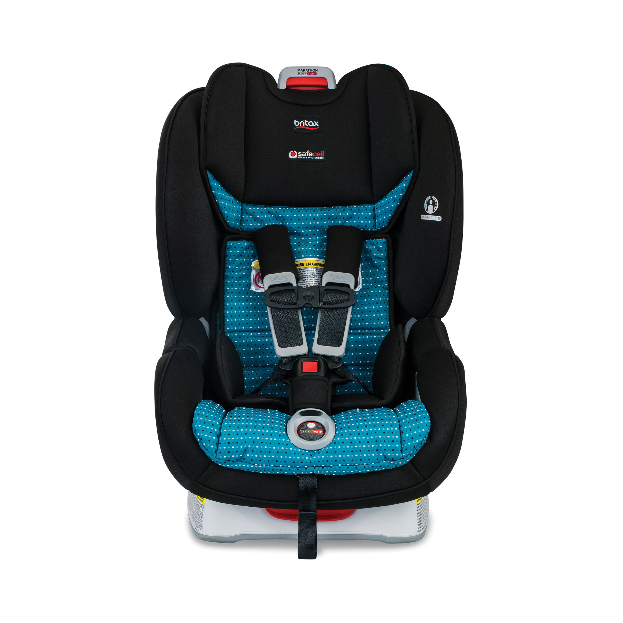 Britax Marathon ClickTight Convertible Car Seat Rear /& Forward Facing Verve