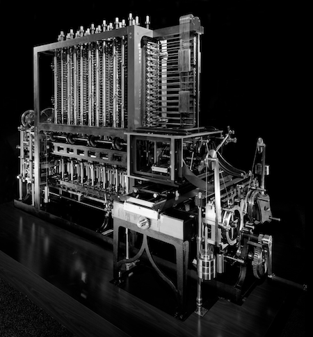 Difference Engine for mechanically calculating polynomial functions // the work of Charles Babbage and Ada Lovelace