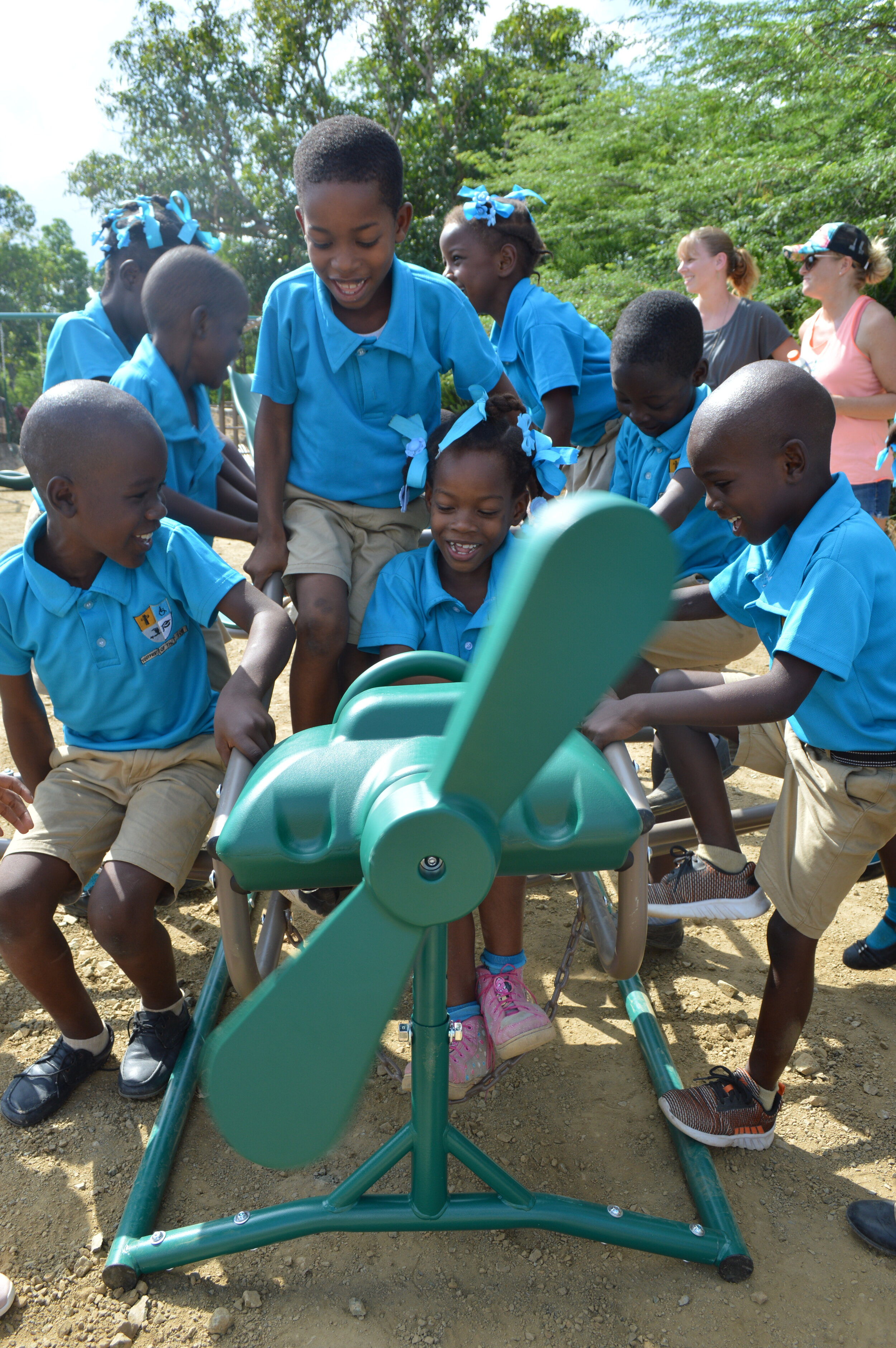 Take Action - Ready to take the next step? You can become a contributor to our cause, or help us build our next playground yourself!
