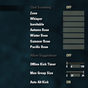 Lilith's group manager - A super tool for managing a group. Notable features such as auto-invite, player death recap, and much more.
