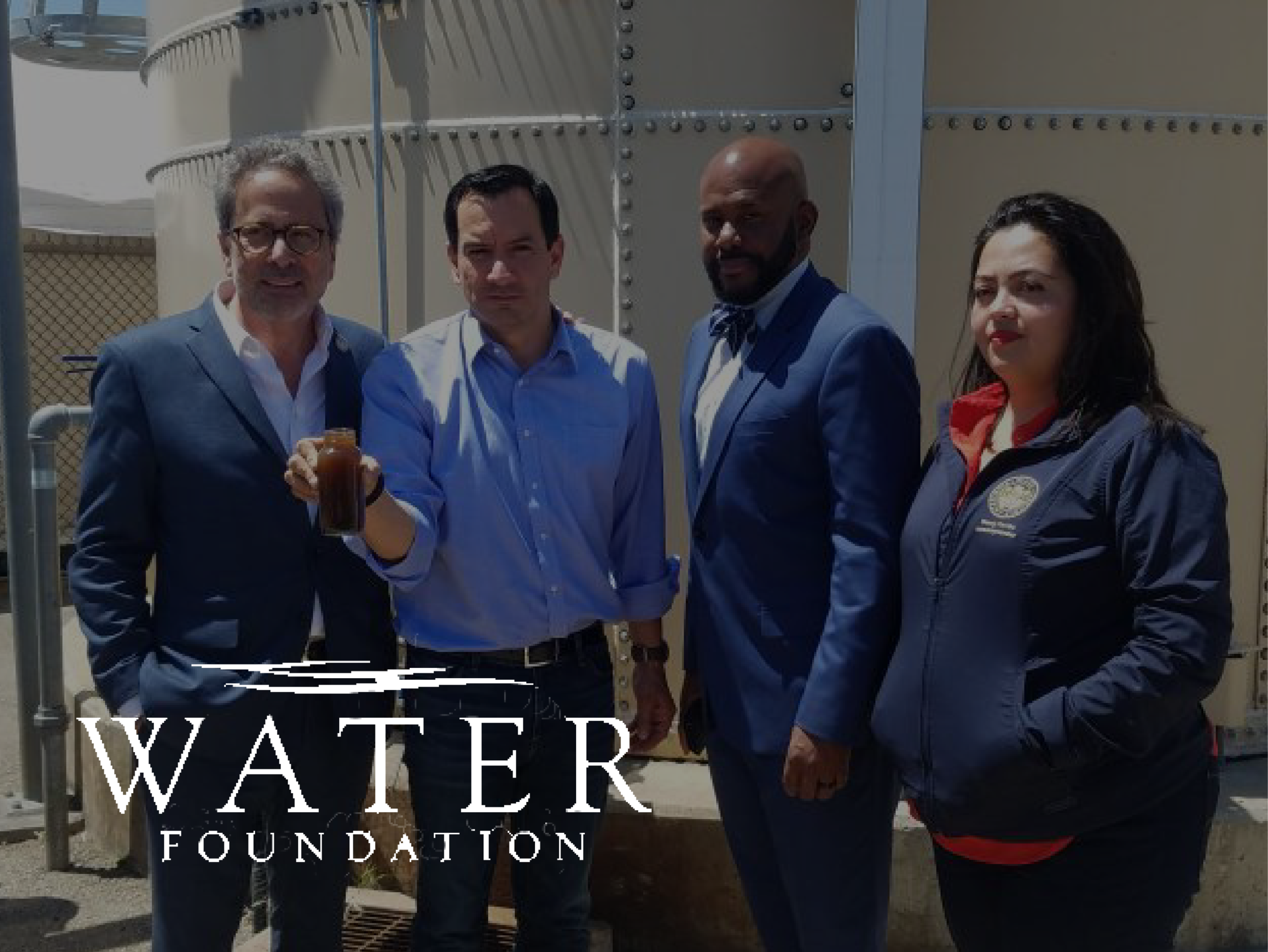 FOUNDATION - Brought together state legislators and local advocates to visit contaminated water treatment facilities across southeast L.A. — emphasizing the need for access to clean, safe drinking water in the region