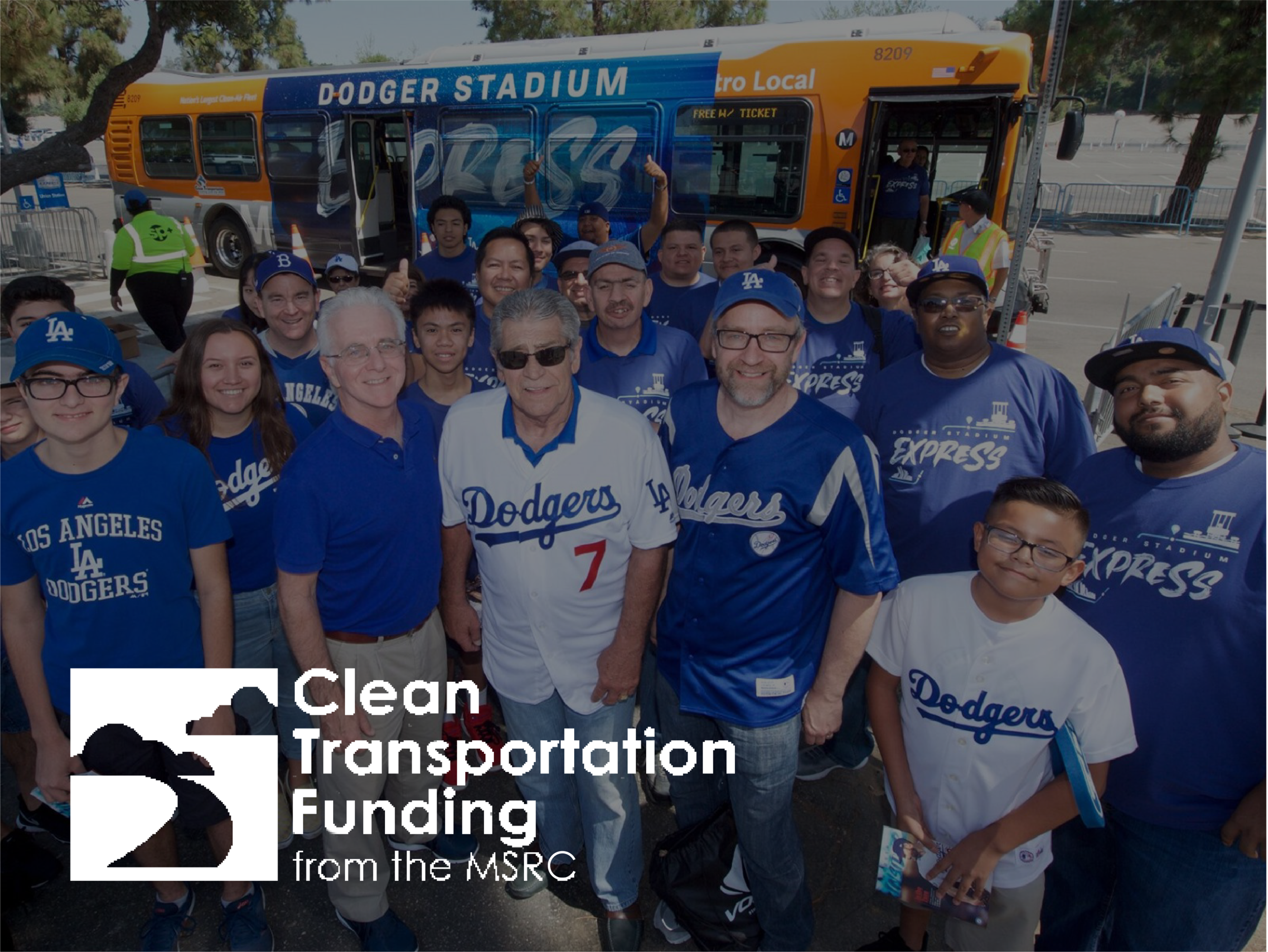 GOVERNMENT - Collaborated with the Los Angeles Dodgers and LA Metro to celebrate the two-millionth rider on the Dodger Stadium Express serviced by the MSRC's Clean Transportation Funding initiative