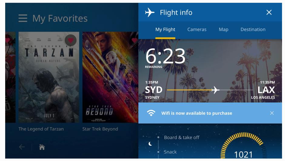 Flight Information - Visual Design