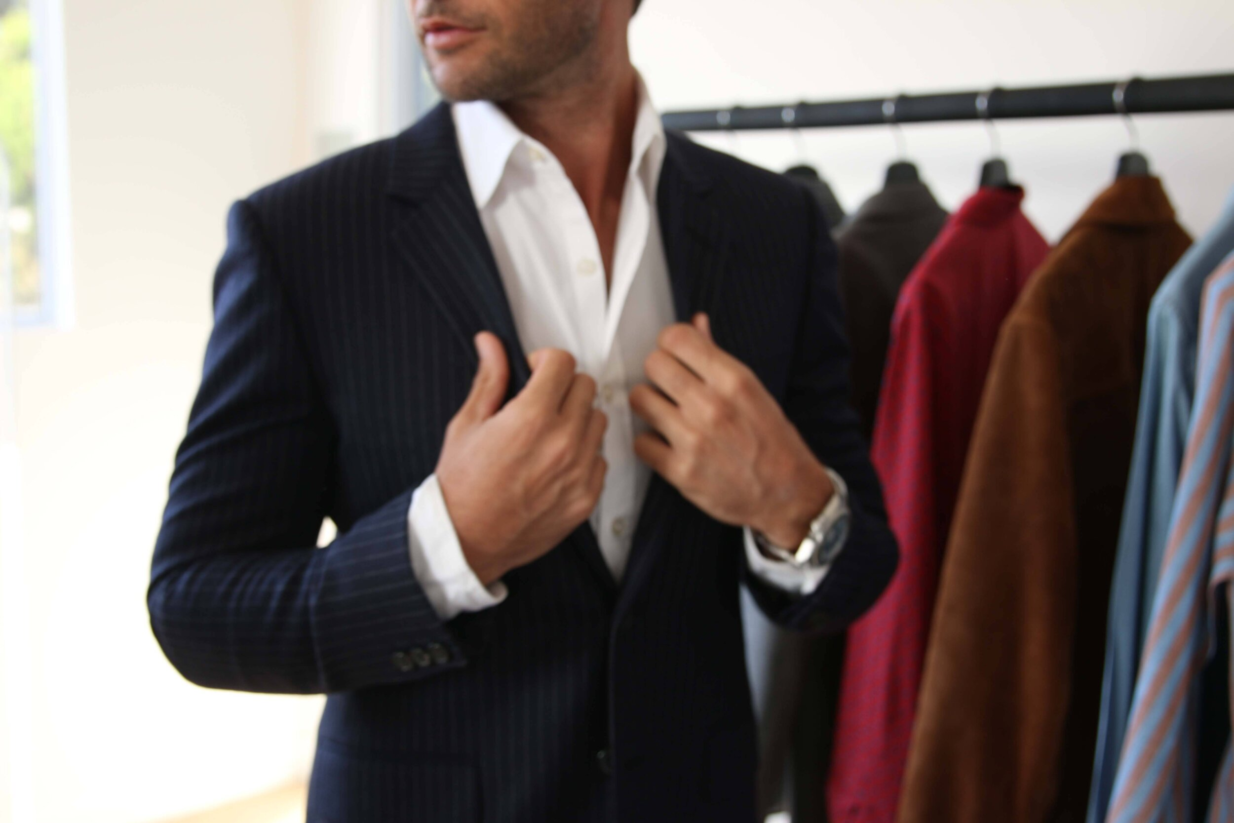 Men's Fashion and Julie Feingold