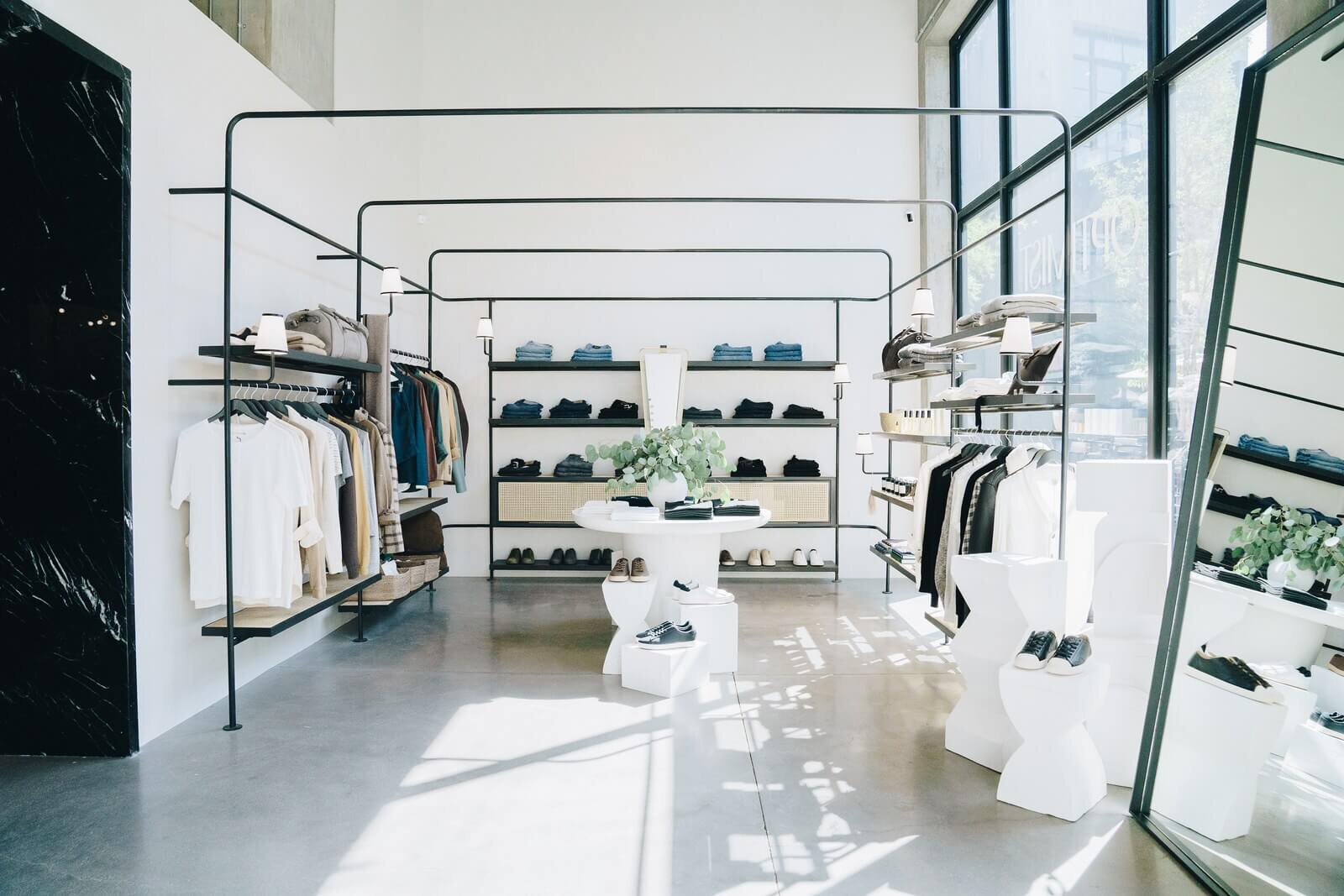 Jeremiah Brent Designs Eye-Catching Space for The Optimist Store - Architectural Digest