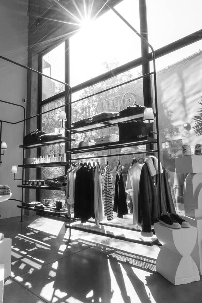 The Optimist: Men's Fashion Entrance