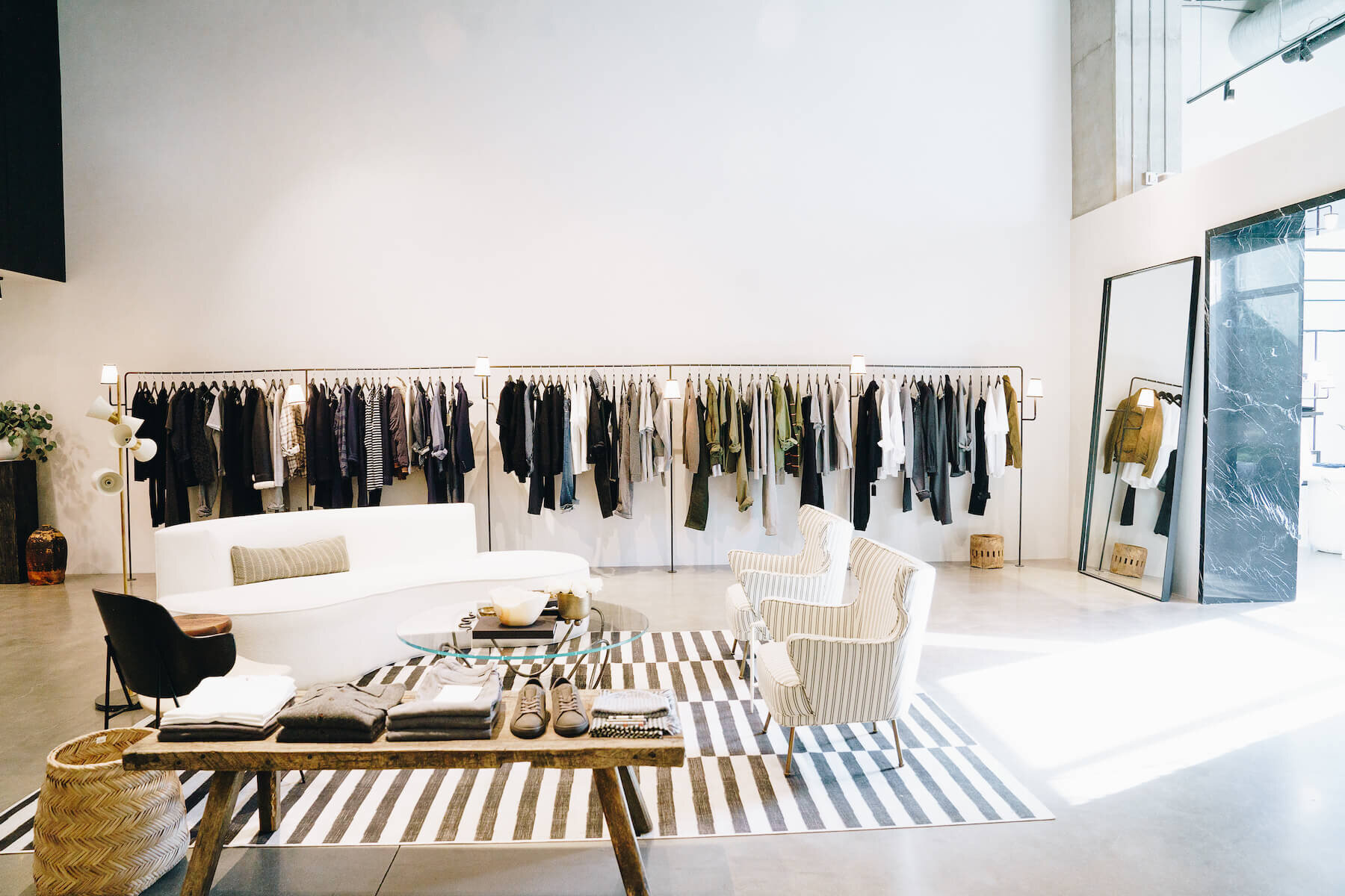 In Los Angeles, a Laid-Back Men's Boutique Channels the ShowtimeLakers Era - Surface