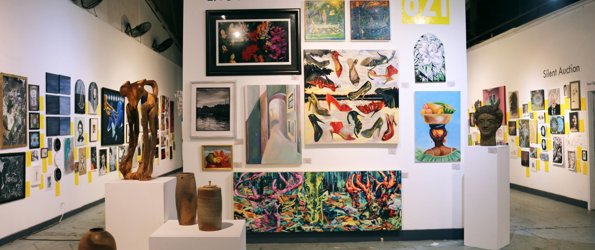 621 GALLERY - CATEGORY: Art GalleryADDRESS: 621 Industrial DrCONTACT: (850) 222-6210 / 621galleryinc@gmail.comHOURS: THUR - SUN from 1pm-5pm / First Fridays & special eventsABOUT: The 621 Gallery, Inc. is a non-profit arts exhibition and programs space, offering progressive and innovative contemporary art, events and programs for all. 621 Gallery is committed to bringing contemporary art, artists, ideas, and programs to the North Florida and South Georgia region.621 Gallery presents the work of 150-250 incredible local and national artists annually in a variety of formats, including solo and group exhibits (2-4 exhibits per month), from September through June each year. We do our best to share the work of artists at any stage in their career — from student to established.The 621 Gallery provides a variety of cultural events that enhance the quality of life in Tallahassee and the surrounding area. We strive to be a showcase for ambitious contemporary art from both local and national artists. We aim to partner with other organizations to create events that expand the meaning of art in the community and that broaden our outreach and membership base. No other visual arts space in our area addresses the artistic and cultural needs of such a diverse range of participants.Monthly program offerings include monthly educational programming for children and adults, monthly literary readings, musical, theatrical and dance performances, as well as participation several times a year in outdoor festivals at Railroad Square Art District.