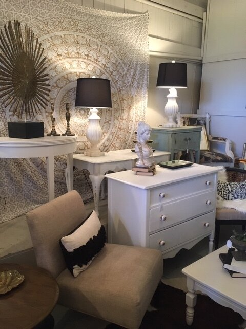 "Centsible Style - CATEGORY: Furniture & Home DecorADDRESS: 625-C Industrial Dr.CONTACT: (850) 322-3115 / lhougland@embarqmail.comHOURS: THURS - FRI from 1pm-5:30pm, SAT from 11am-4pm, special district-wide events, and by appointment.ABOUT: This cool, curated shop offers vintage, antique, repurposed, and new furniture all at ""centsible"" prices.Home staging and home decorating services are also available from this uniquely beautiful shop."