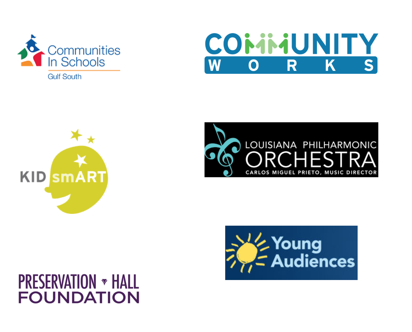 Programs & Cultural Organizations - This list includes links to programs that provide music education services in schools, community-based music programs, and cultural institutions with music education offerings.