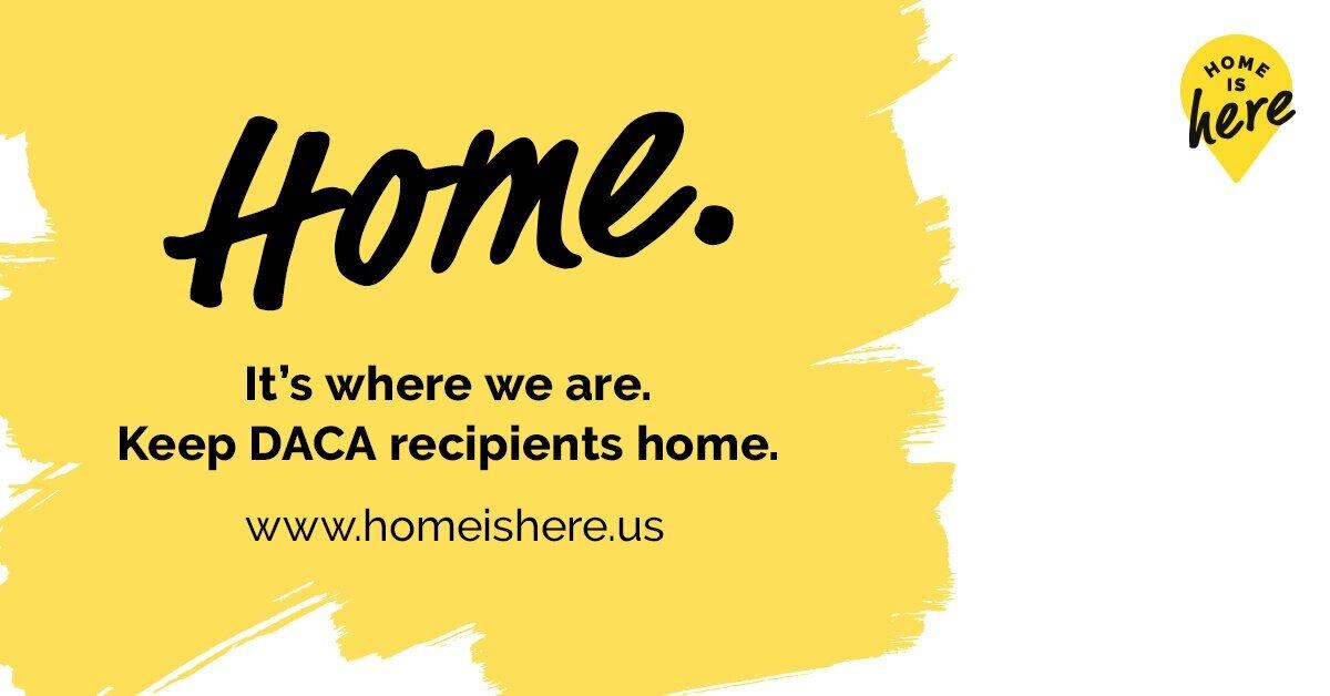#HomeIsHere