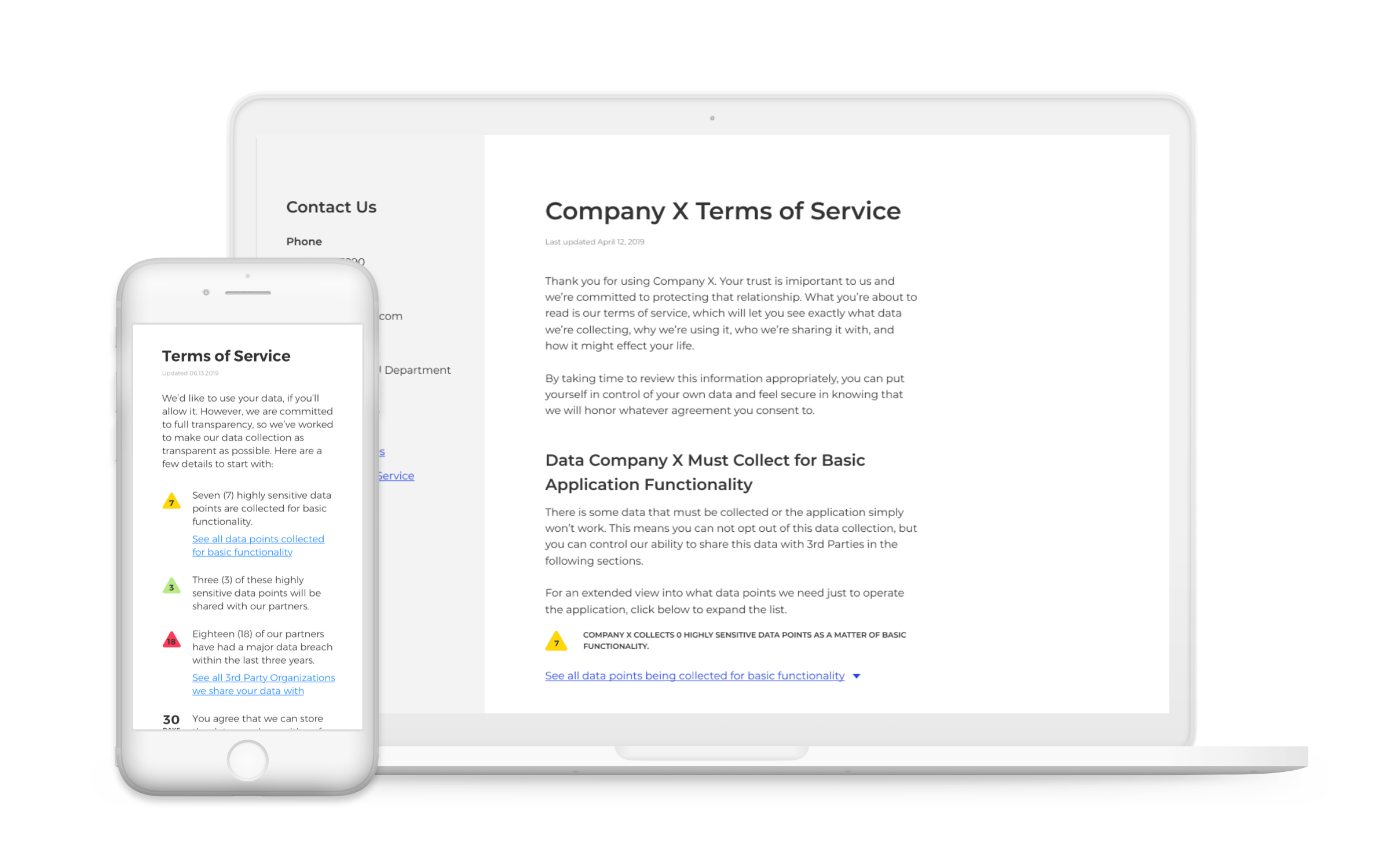 BEACON Consent Management System (CoMS) - BEACON's Consumer Privacy CX product is setting a new global standard for the experience of end-user legal agreements (EULA's). Protect your company while earning back the trust of your consumers.