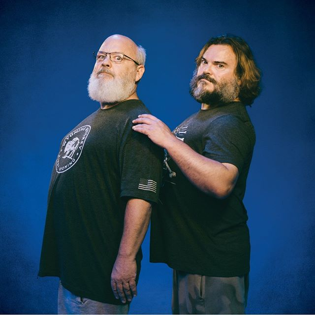 "The time has come! Tenacious D Blue Series 7"" produced by the one and only @officialjackwhitelive - out Record Store Day / Black Friday! Link in bio."