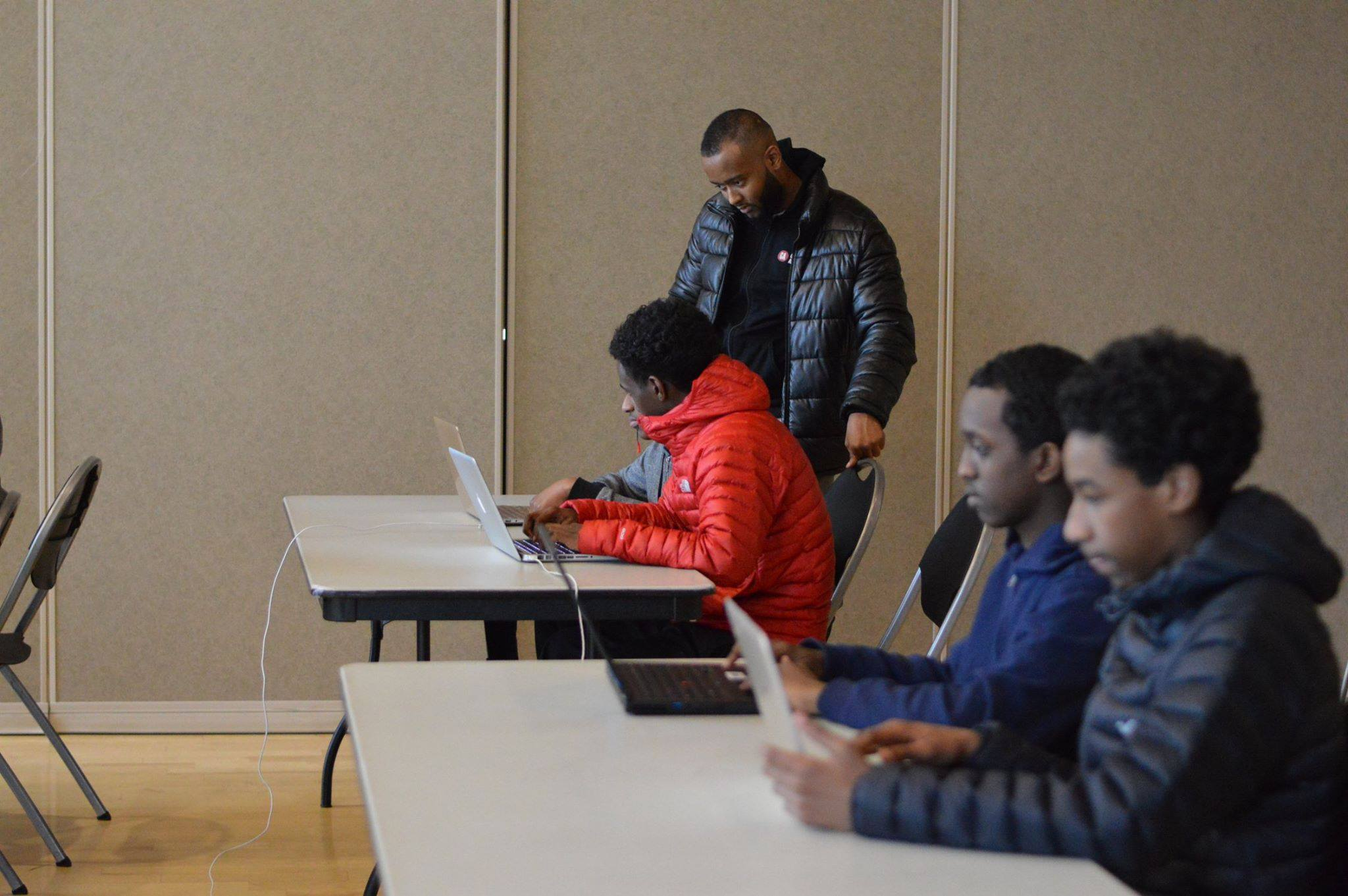 Web Development Bootcamps - Our Web Development cohorts range from 4 weeks to 6 weeks. Where we take inner city under served High Schoolers and teach them to build mobile-responsive websites.