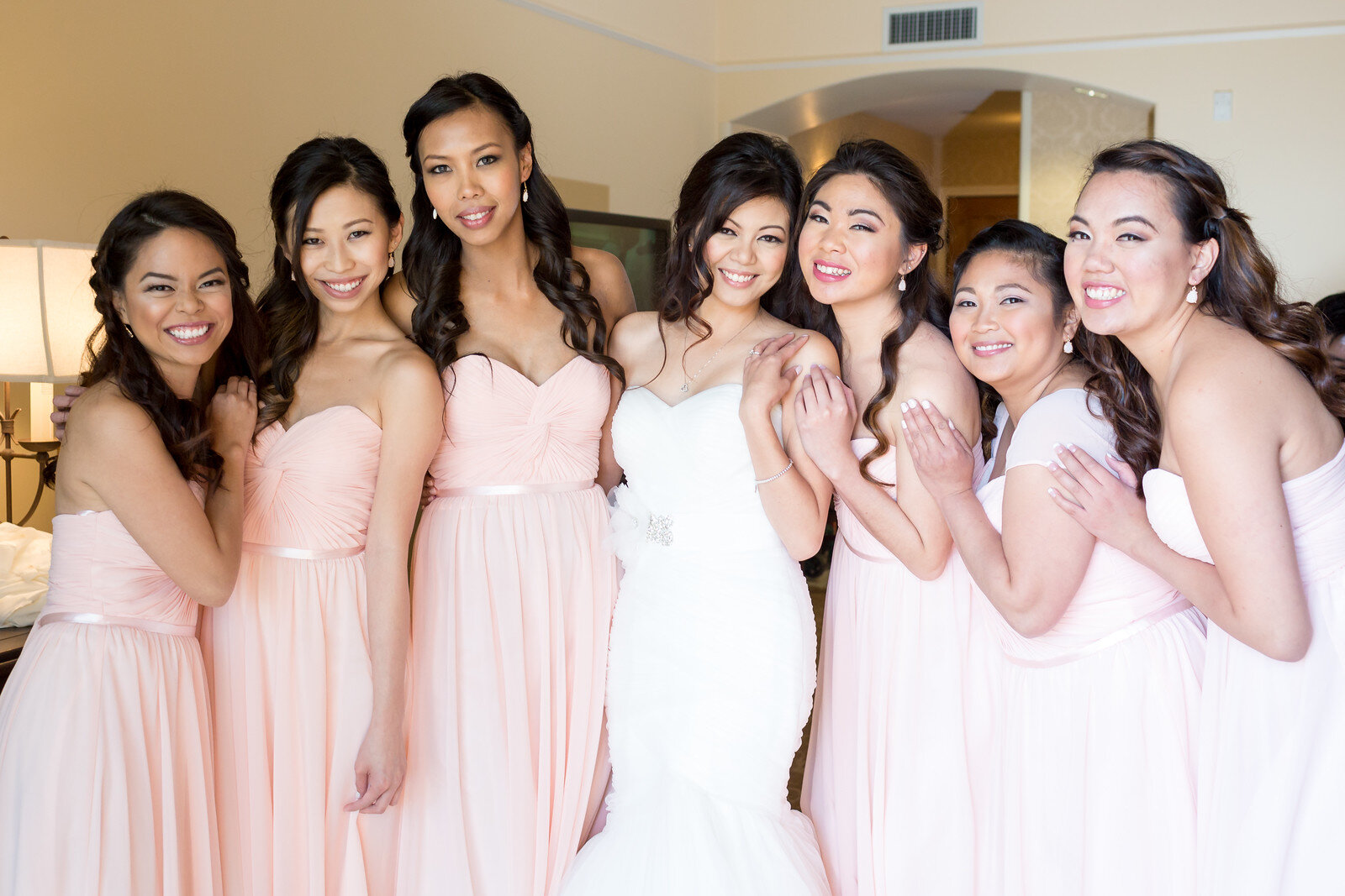 9 vintage bridal party romantic bridal updo.jpg