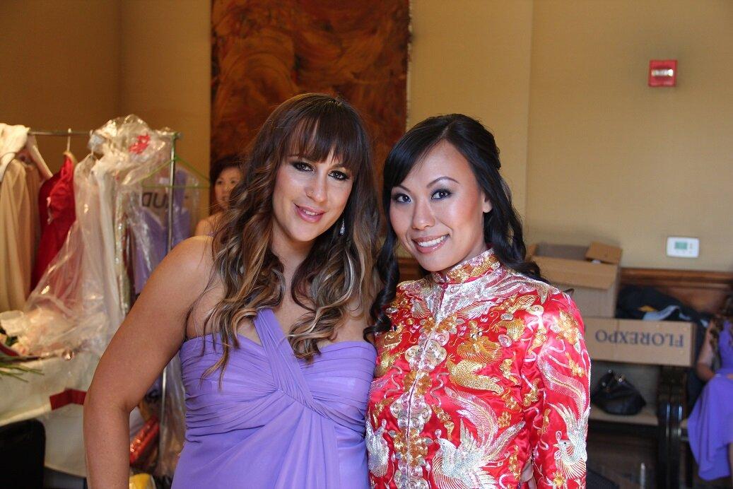 27 Asian Chinese Bridal Makeup Bridesmaid Wedding.JPG
