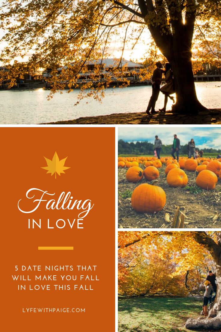 5 date nights that will make you fall in love this fall