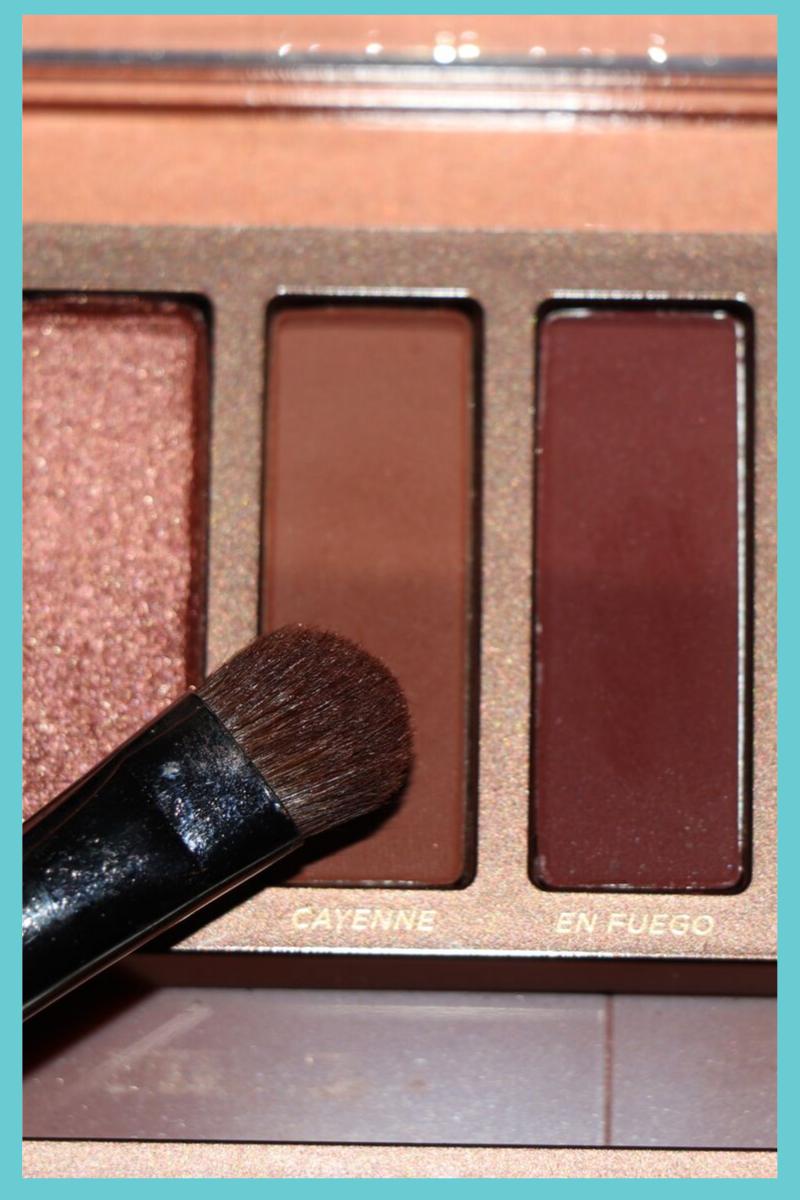 Naked Heat Palette Shade Cayenne