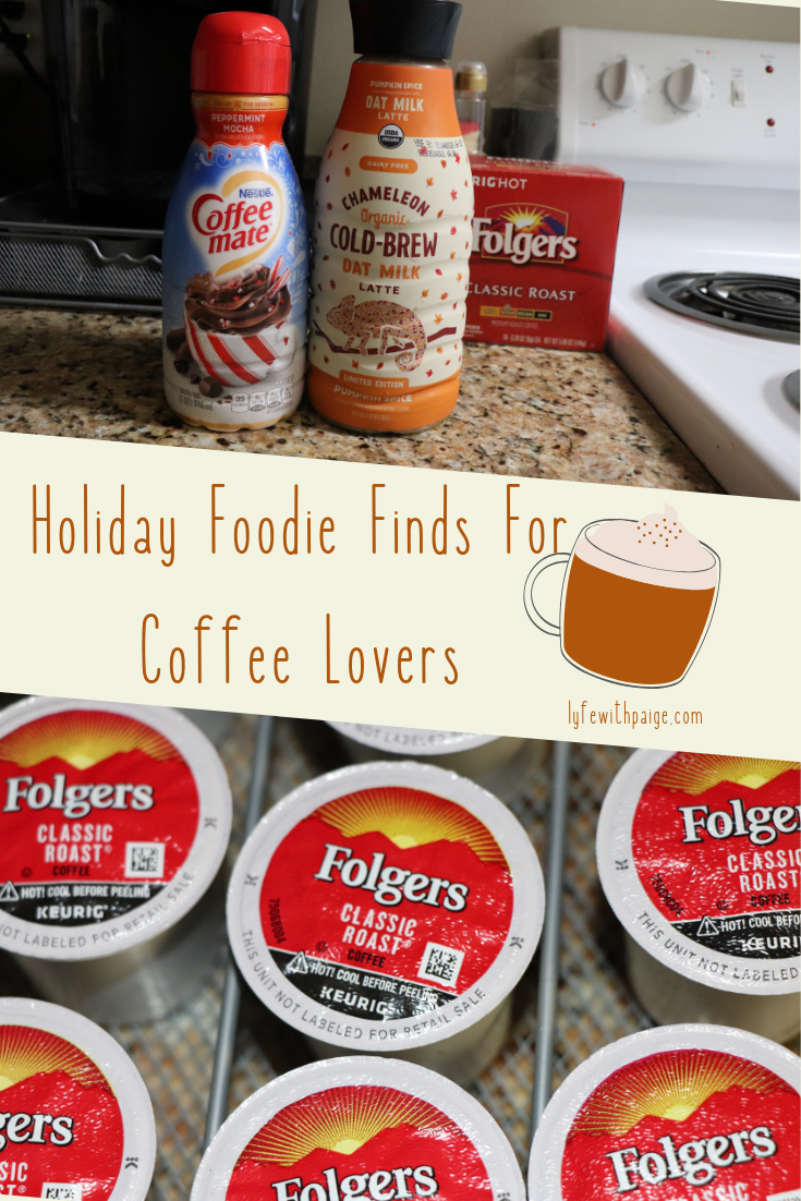 Holiday Foodie Finds for coffee lovers Pinterest