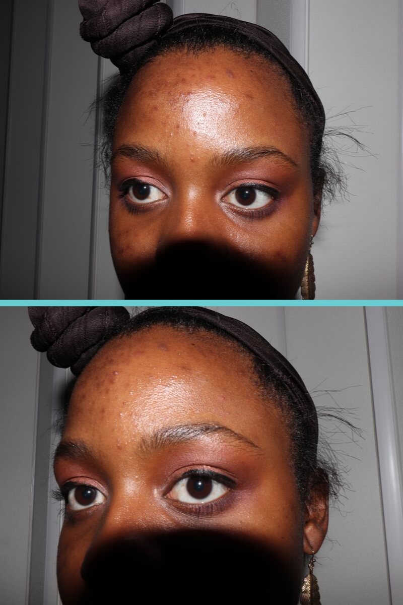 Close Up of the final Day time smokey eye look using the Naked Palette