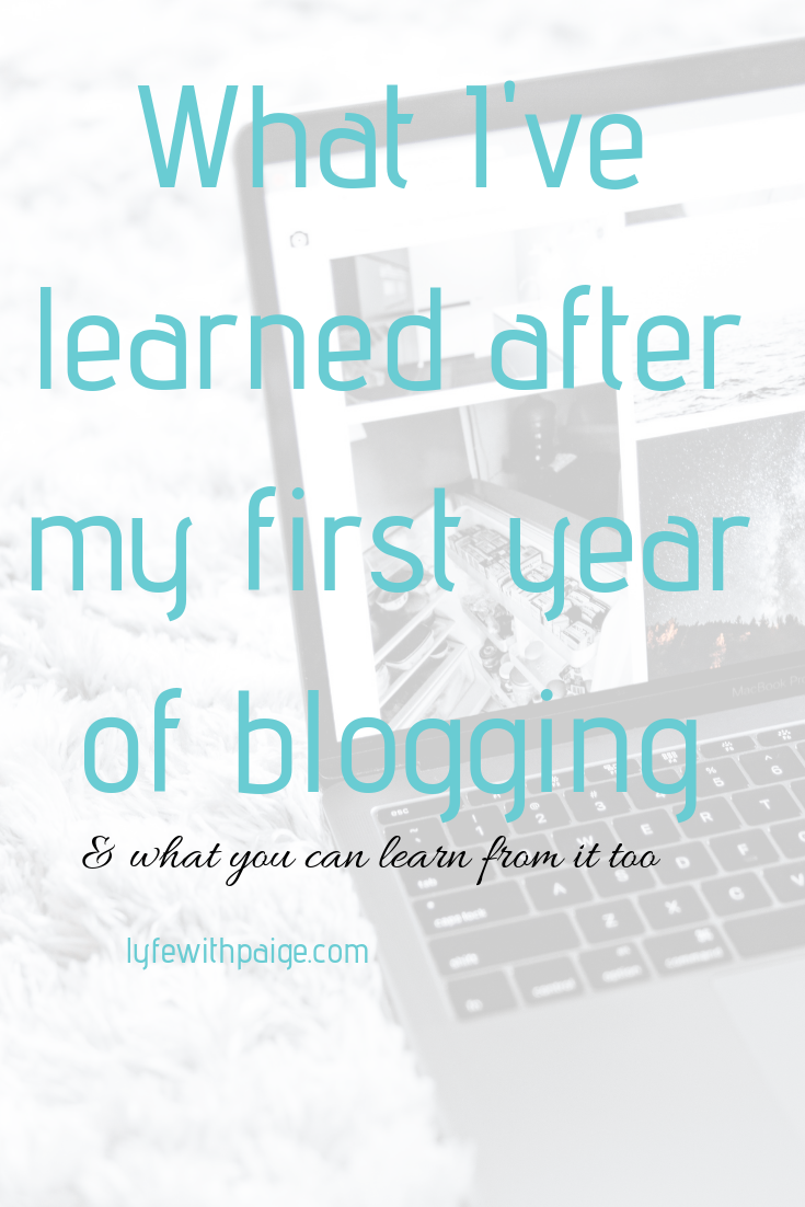 What you can learn from my first year of blogging