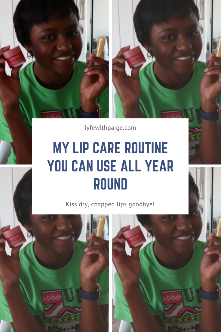 my lip care routine you can use all year round