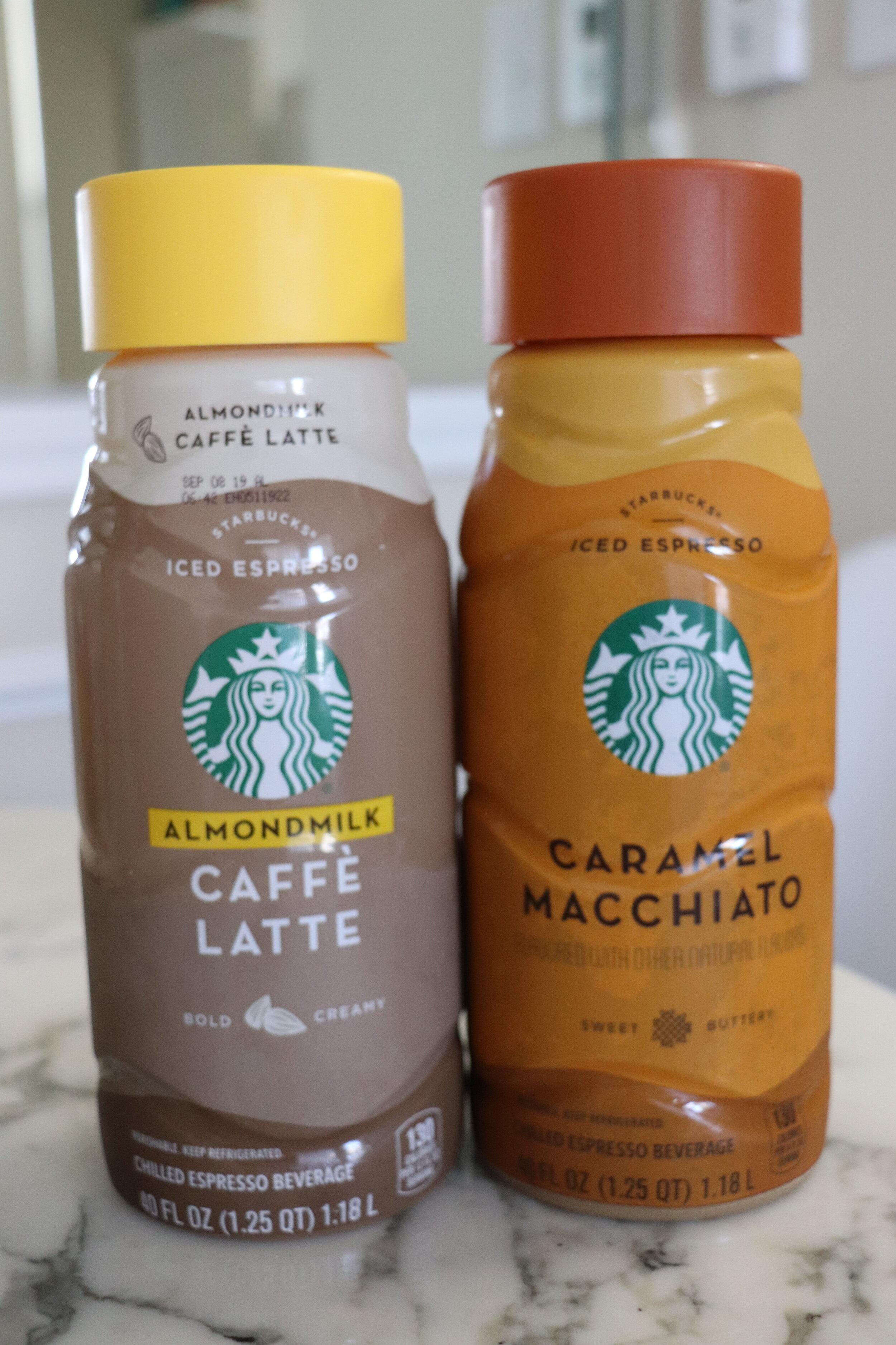 Iced Starbucks Lattes