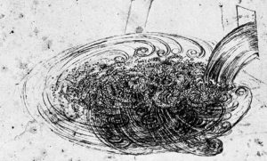 THE BEAUTIFUL WATER DRAWINGS BY LEONARDO DA VINCI SHOW NATURAL SELF-FORMING SPIRAL CONSTRUCTIONS THAT WE BELIEVE ARE INTRINSICALLY PART OF THE LEARNING PROCESS