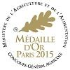 Marquis de Bonas, Rouge 2013 - Or    Concours Général Paris 2015