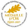 Cabernet Sauvignon 2015 - Or    Concours General Paris 2017