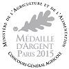 Baron de Lisse, Merlot, Rose 2014 - Argent    Concours General Paris 2015