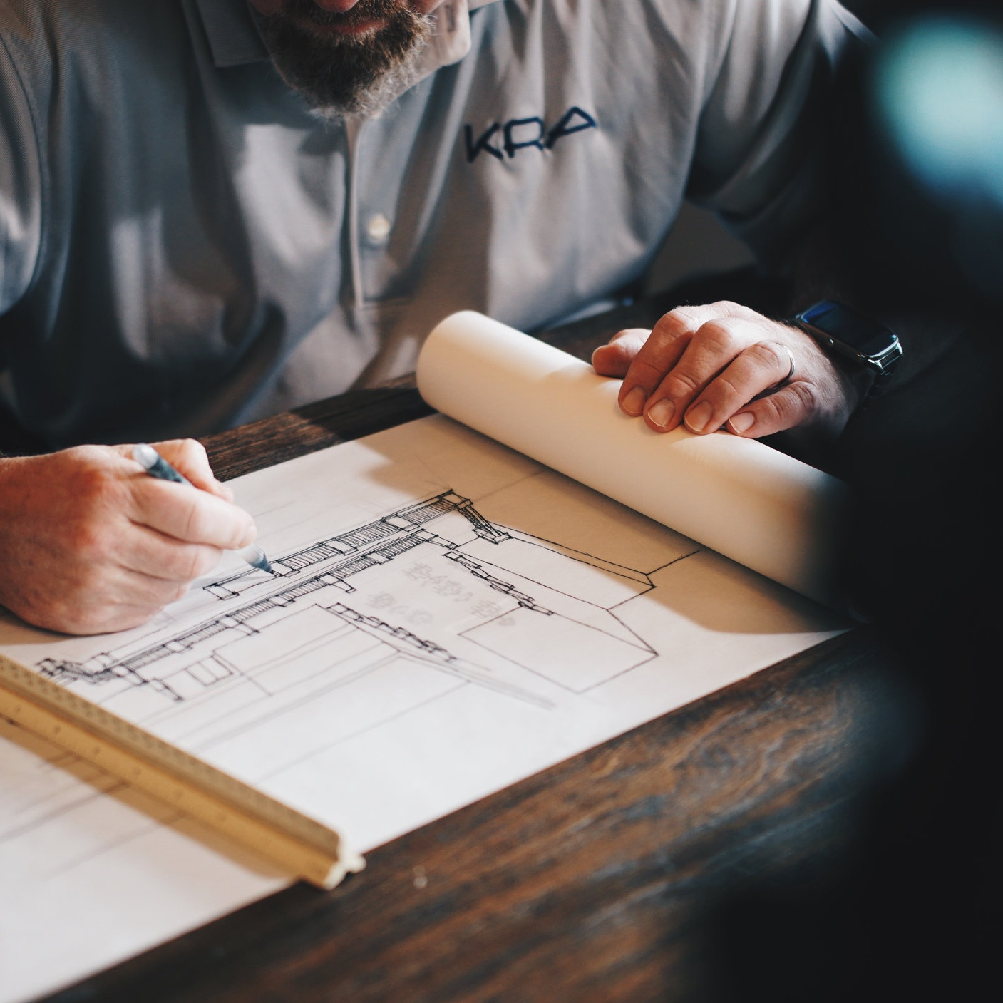 Design - The design phase consists of a close collaboration between our industry partners and in-house construction management, where we engage with architects and engineers to create a structure that maximizes on returns compared to cost in a striking, highly marketable design.